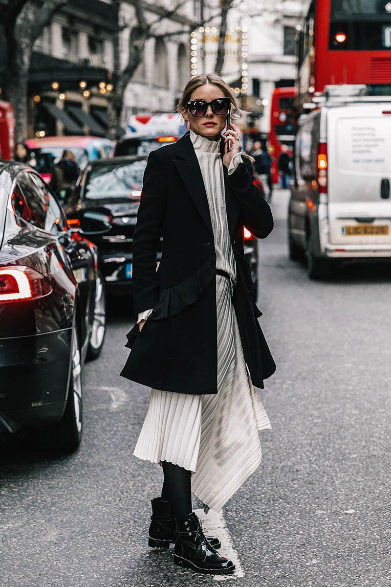 London Fashion Week 2017 Coats Street Style