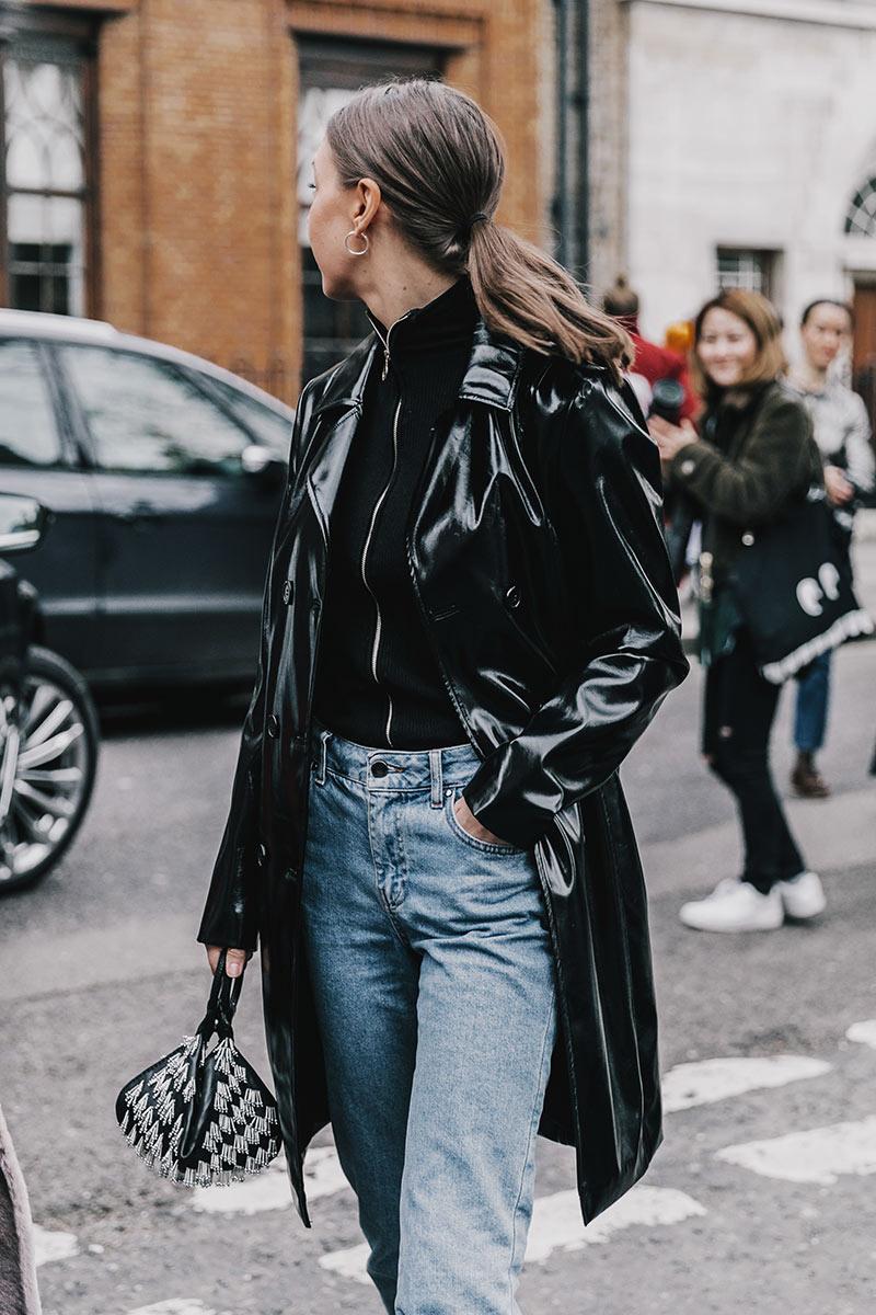 London fashion week 2017 coats street style In style london fashion week