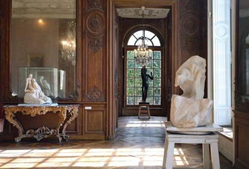 Vue de l'intérieur de l'Hôtel Biron